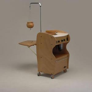 carrello per bagno di vapore ayurvedaattrezzatura ayurvedicaattrezzatura per massaggio ayurvedico